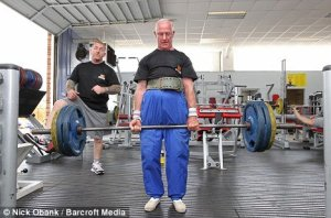 Ted Brown_Power Lifting