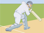 Cricket Sports Clipart